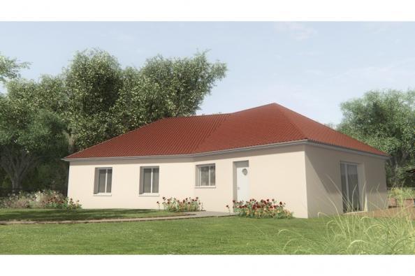 Modele De Maison Maison Sur Sous Sol 100 M2 Creuse Ella 6 4 Chambres Maisons France Confort