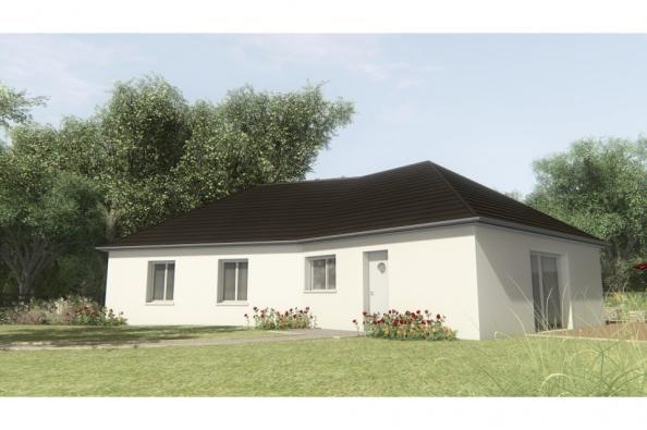 Modèle de maison MAISON SUR SOUS-SOL - 100 M2 - CORRÈZE-LOT-DORDOGN 4 chambres  : Photo 1