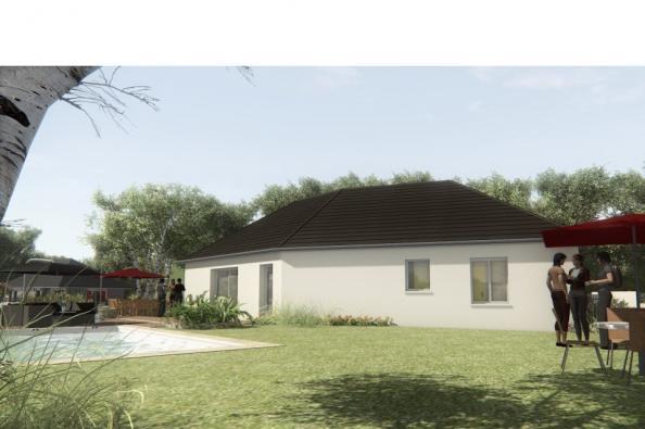 Modèle de maison MAISON SUR SOUS-SOL - 100 M2 - CORRÈZE-LOT-DORDOGN 4 chambres  : Photo 2