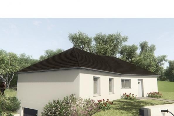 Modèle de maison MAISON SUR SOUS-SOL - 100 M2 - CORRÈZE-LOT-DORDOGN 4 chambres  : Photo 3