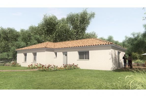 Modèle de maison MAISON SUR SOUS-SOL - 103 M 2 - HAUTE-VIENNE - GAR 4 chambres  : Photo 1