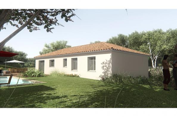 Modèle de maison MAISON SUR SOUS-SOL - 103 M 2 - HAUTE-VIENNE - GAR 4 chambres  : Photo 3