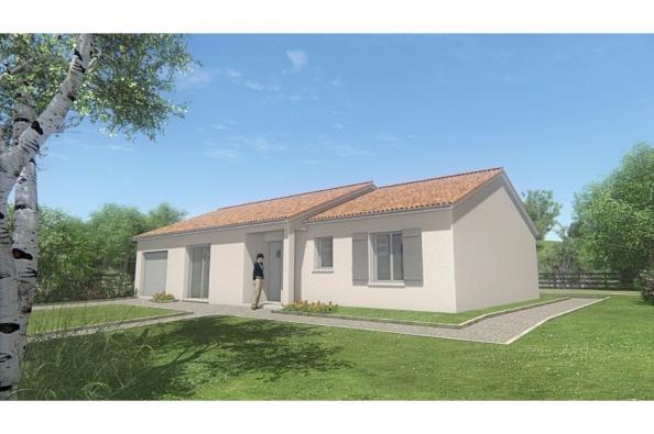 Modèle de maison MAISON PLAIN PIED- 90 M 2 - HAUTE-VIENNE - PRIMA 5 3 chambres  : Photo 1