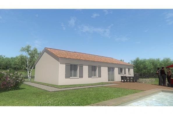 Modèle de maison MAISON PLAIN PIED- 90 M 2 - HAUTE-VIENNE - PRIMA 5 3 chambres  : Photo 2