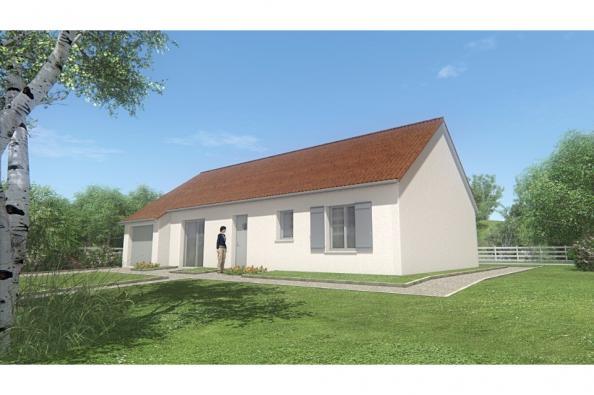 Modèle de maison MAISON PLAIN PIED - 85 M 2 - CREUSE - STAR 5 BIS 3 chambres  : Photo 1