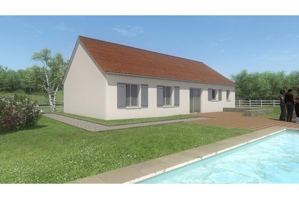 Modèle de maison MAISON PLAIN PIED - 85 M 2 - CREUSE - STAR 5 BIS 3 chambres  : Photo 2