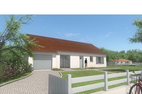Modèle de maison MAISON PLAIN PIED - 85 M 2 - CREUSE - STAR 5 BIS 3 chambres  : Photo 3