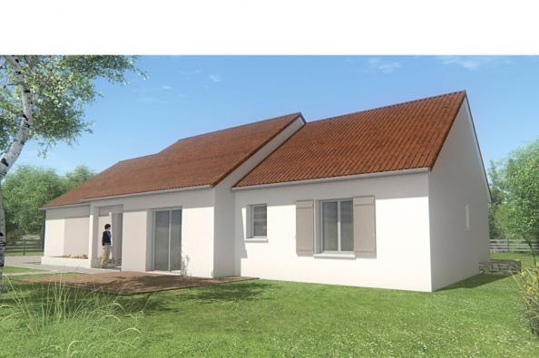 Modèle de maison MAISON DE PLAIN PIED - 96 M 2 - CREUSE - STAR 5 DG 3 chambres  : Photo 1