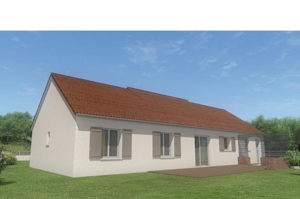 Modèle de maison MAISON DE PLAIN PIED - 96 M 2 - CREUSE - STAR 5 DG 3 chambres  : Photo 2