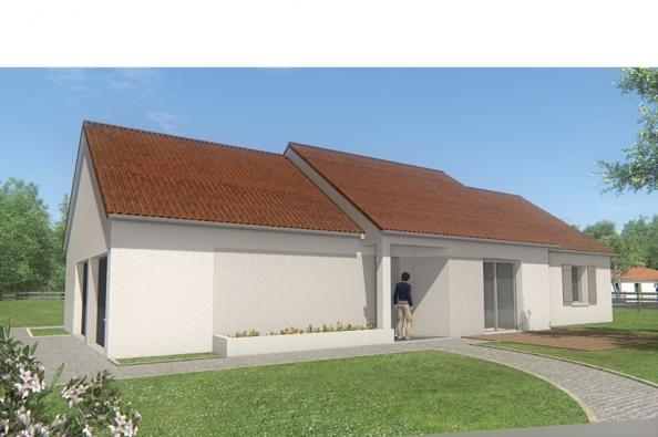 Modèle de maison MAISON DE PLAIN PIED - 96 M 2 - CREUSE - STAR 5 DG 3 chambres  : Photo 3