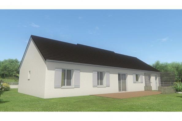Modèle de maison MAISON DE PLAIN PIED - 96 M 2 - CORRÈZE - NORD DU 3 chambres  : Photo 2