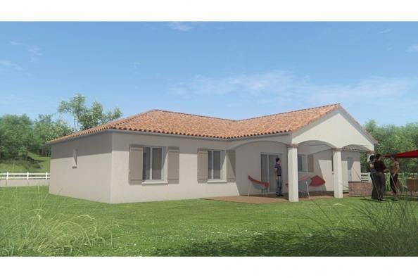 Modèle de maison MAISON PLAIN PIED - 96 M 2 - HAUTE- VIENNE - STAR 3 chambres  : Photo 2