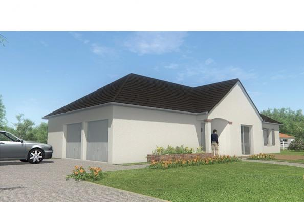 Modèle de maison MAISON DE PLAIN PIED - 96 M 2 - CORRÈZE - LOT - DO 3 chambres  : Photo 3