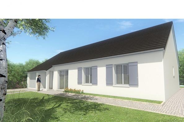 Modèle de maison MAISON DE PLAIN PIED - 103 M 2 - CORRÈZE - LOT - D 4 chambres  : Photo 1