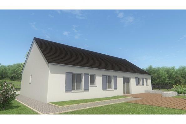 Modèle de maison MAISON DE PLAIN PIED - 103 M 2 - CORRÈZE - LOT - D 4 chambres  : Photo 2