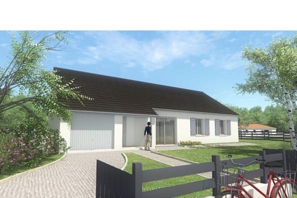 Modèle de maison MAISON DE PLAIN PIED - 103 M 2 - CORRÈZE - LOT - D 4 chambres  : Photo 3