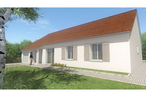Modèle de maison MAISON DE PLAIN PIED - 103 M 2 - CREUSE - STAR 6 4 chambres  : Photo 1