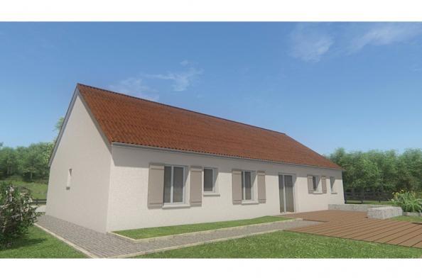 Modèle de maison MAISON DE PLAIN PIED - 103 M 2 - CREUSE - STAR 6 4 chambres  : Photo 2