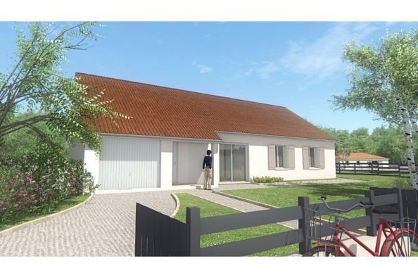 Modèle de maison MAISON DE PLAIN PIED - 103 M 2 - CREUSE - STAR 6 4 chambres  : Photo 3
