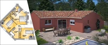 Une maison de 90 m2 : un plan attractif et prisé