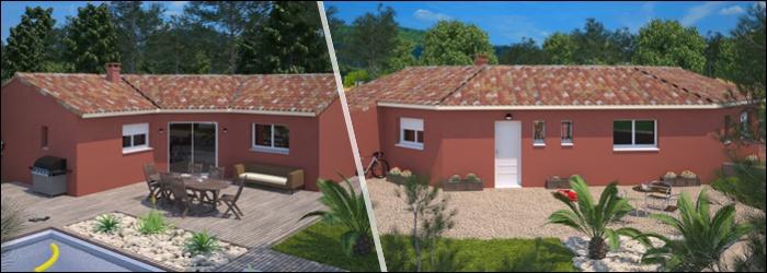 Harmonia 83 C la maison en U