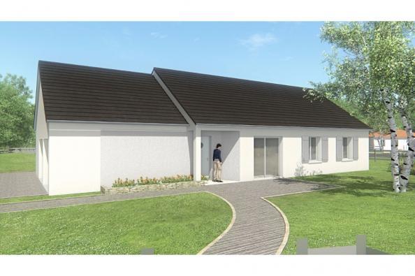 Modèle de maison MAISON DE PLAIN PIED - 105 M 2 - CORRÈZE- LOT - DO 4 chambres  : Photo 1