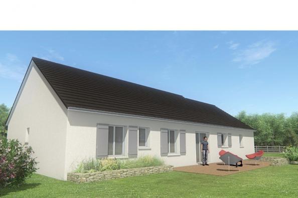 Modèle de maison MAISON DE PLAIN PIED - 105 M 2 - CORRÈZE- LOT - DO 4 chambres  : Photo 2