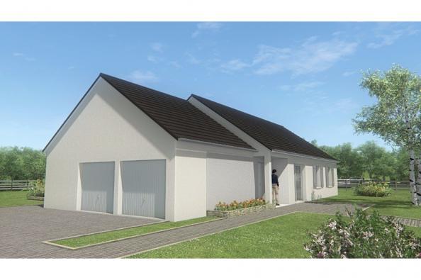Modèle de maison MAISON DE PLAIN PIED - 105 M 2 - CORRÈZE- LOT - DO 4 chambres  : Photo 3