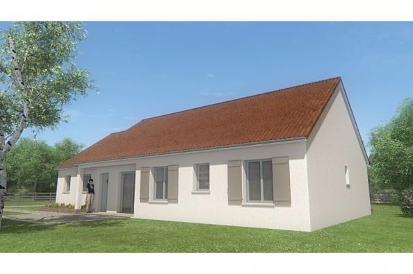 Modèle de maison MAISON DE PLAIN PIED - 105 M 2 - CREUSE - STAR 6DG 4 chambres  : Photo 1