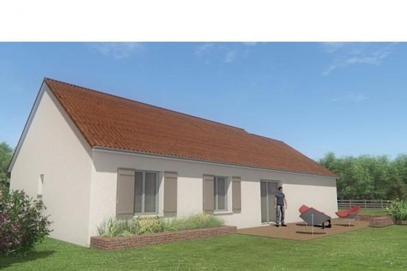Modèle de maison MAISON DE PLAIN PIED - 105 M 2 - CREUSE - STAR 6DG 4 chambres  : Photo 2