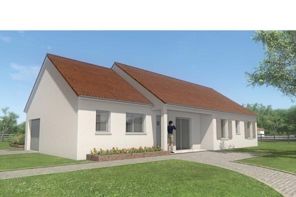 Modèle de maison MAISON DE PLAIN PIED - 105 M 2 - CREUSE - STAR 6DG 4 chambres  : Photo 3