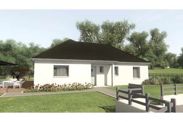 Modèle de maison MAISON SUR SOUS-SOL - 94 M 2 - CORRÈZE - LOT - DOR 3 chambres  : Photo 1