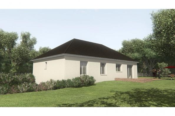 Modèle de maison MAISON SUR SOUS-SOL - 94 M 2 - CORRÈZE - LOT - DOR 3 chambres  : Photo 2