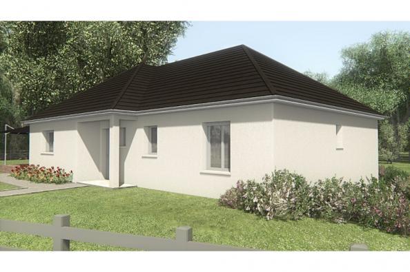 Modèle de maison MAISON SUR SOUS-SOL - 94 M 2 - CORRÈZE - LOT - DOR 3 chambres  : Photo 3