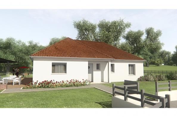 Modèle de maison MAISON SUR SOUS-SOL - 94 M 2 - CREUSE - STERRIA 5 3 chambres  : Photo 1