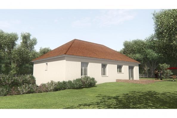 Modèle de maison MAISON SUR SOUS-SOL - 94 M 2 - CREUSE - STERRIA 5 3 chambres  : Photo 2