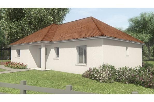 Modèle de maison MAISON SUR SOUS-SOL - 94 M 2 - CREUSE - STERRIA 5 3 chambres  : Photo 3