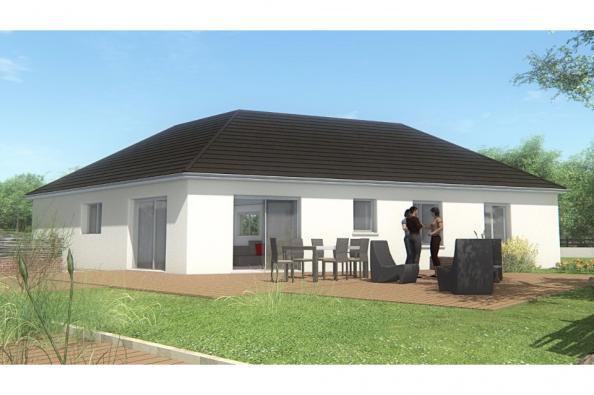 Modèle de maison MAISON DE PLAIN PIED - 100 M 2 - CORRÈZE-LOT-DORDO 3 chambres  : Photo 2