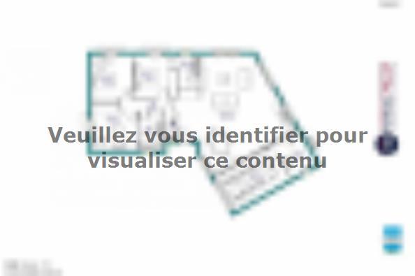 Plan de maison MAISON DE PLAIN PIED - 100 M 2 - HAUTE-VIENNE - VE 3 chambres  : Photo 1