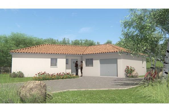 Modèle de maison MAISON DE PLAIN PIED - 100 M 2 - HAUTE-VIENNE - VE 3 chambres  : Photo 1