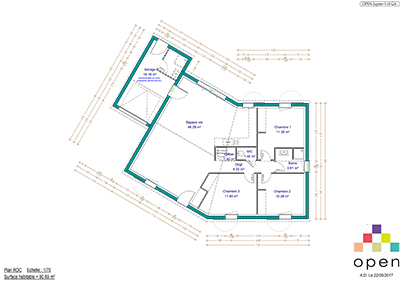 Open Limousin - Plan de maisons Jupiter