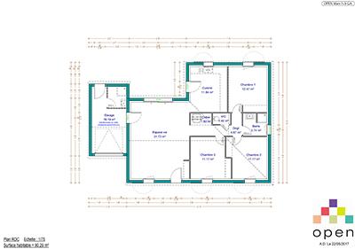 Open Limousin - Plan de maisons Mars