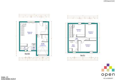 Open Limousin - Plan de maisons Saturne