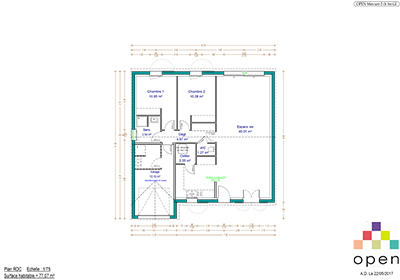 Open Limousin - Plan de maisons Mercure