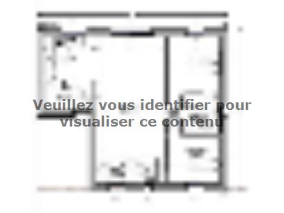 Plan de maison Maison 76 m2 - 2CH - 110661ROY 2 chambres  : Photo 1