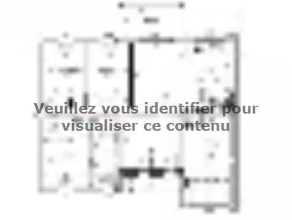 Plan de maison Maison 86 m2 - 3CH - Garage - 127486LAN 3 chambres  : Photo 1