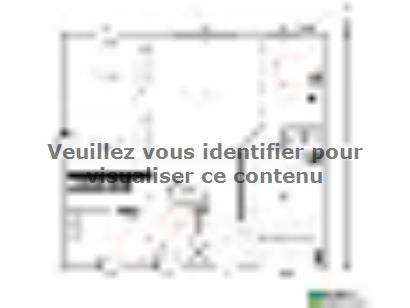 Plan de maison Maison 90 m2 - 3CH - Garage - P120472DEW 3 chambres  : Photo 1
