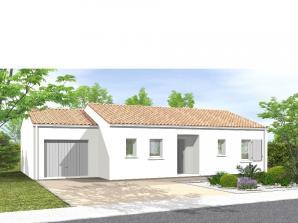 Maison neuve à Dompierre-sur-Yon (85170)<span class='prix'> 150700 €</span> 150700