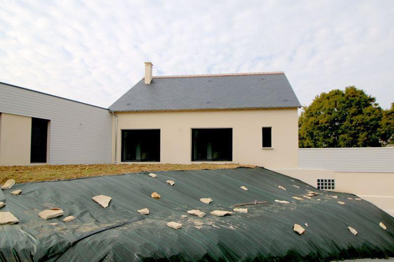 Maison Toit Plat En L De De Maison Moderne Uagrave Toit Plat With