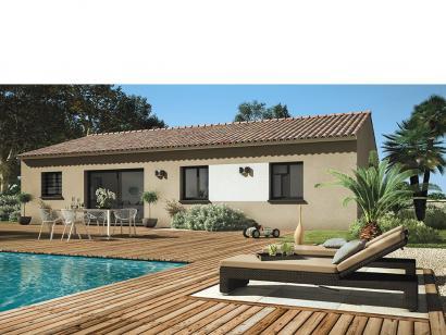 Modèle de maison Amandine G 80 Design 3 chambres  : Photo 1